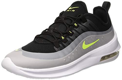 Nike air max axis, scarpe da ginnastica basse uomo, nero (black/volt-wolf grey-anthracit 004), 45.5 eu