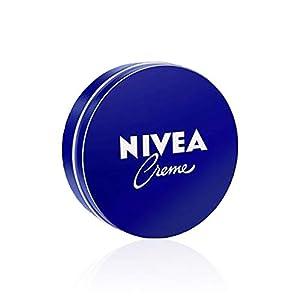 NIVEA Creme (1 x 75 ml), crema hidratante corporal y facial para toda la familia, crema universal para una piel suave e hidratada, crema multiusos