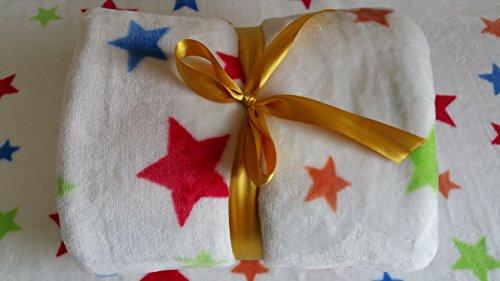 Shik Gifts NEW LUXURY SUPER SOFT FLEECE KIDS WINTER BLANKET DESIGNED FOR BABIES FROM NEWBORN 165 cm x 120 cm XLarge