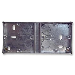 Appleby–Dual Flush Stahl Rückseite Karton, 154x 68x 25mm (BxHxT)