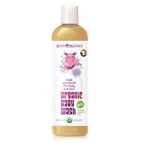 Alteya Organic - Champú y Jabón Líquido para Bebés 400 ml