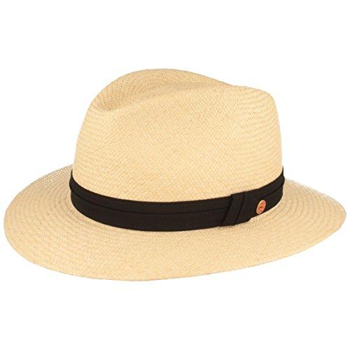a-Hut | Stroh-Hut | Sommer-Hut aus Ecuador - Traditionell Handgeflochten, gefüttertes Schweißband, Bruchschutz ()