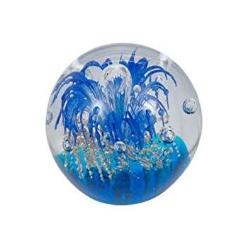 Presse-papiers deco bille de verre rêve boule de cristal paperweight 41