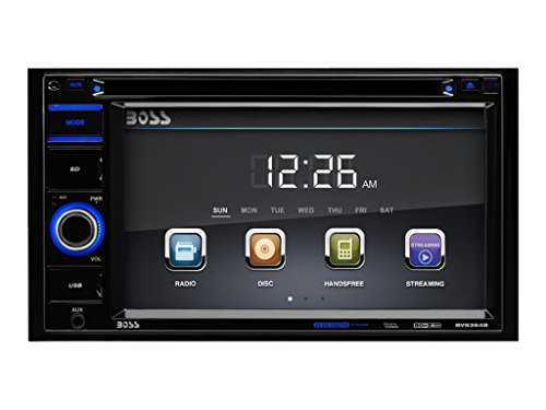 BOSS AUDIO BV9364B Doppel-DIN DVD Player Autoradio mit Bluetooth, 6.2