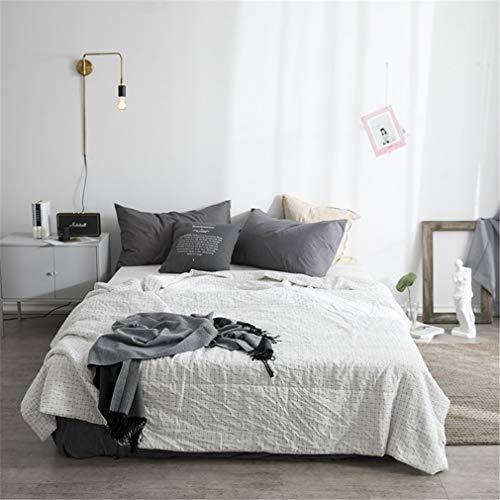 AILEYOU Sommer-Quilts Cool Decken Decken Kinder Erwachsene Quilt Einfach Doppelgarn Auf Beiden Seiten Erhältlich Waschbar Schlafzimmer Sofa Sich Ausruhen