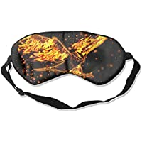Burning Eagle With Fire Sleep Eyes Masks - Comfortable Sleeping Mask Eye Cover For Travelling Night Noon Nap Mediation... preisvergleich bei billige-tabletten.eu