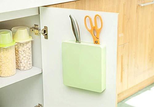 Accessori Da Cucina Da Parete.Supporto Da Parete Nascosto Okminiok Knife Storage Block Plastica Scaffale Porta Accessori Da Cucina Armadietto Da Appendere Coltelli Supporto