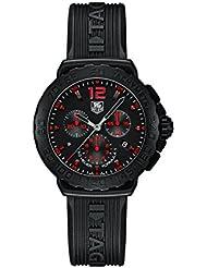 TAG Heuer Herren-Armbanduhr Chronograph Quarz Kautschuk CAU111A.FT6024