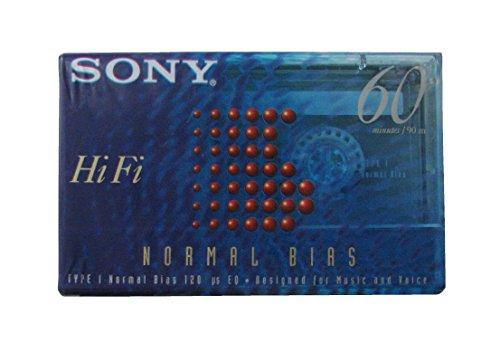 Sony Hi-Fi 60 Normal Bias Slide Case Audio Cassette, gebraucht gebraucht kaufen  Wird an jeden Ort in Deutschland