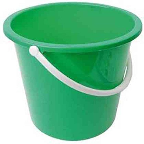 Jantex CD806 Round Plastic Buckets, Green Test