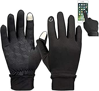 Handcuffs Biking/Cycling Gloves Water Resistant Outdoor Gloves Athletic Touch Screen Friendly Gloves for Men and Women