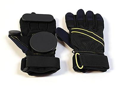 : MAXOfit® Downhill Slide Handschuhe mit Kevlareinlage für Skateboard und Longboard