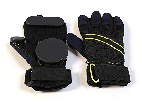 : MAXOfit® Downhill Slide Handschuhe mit Kevlareinlage für Skateboard und Longboard (Longboard Skateboard Slide Handschuhe)