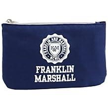 06afd847f Franklin Marshall Make Up Bag Con El Power Bank Bolsos Neceser Vanity  Pochettes Azul
