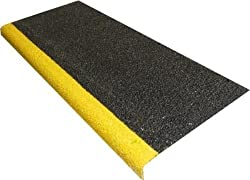 Pack of 10 Anti Slip Stair Tread Covers GRP - 750mm