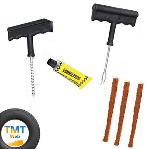 Kit-di-riparazione-pneumatici-automoto-bicicletta-Tubeless