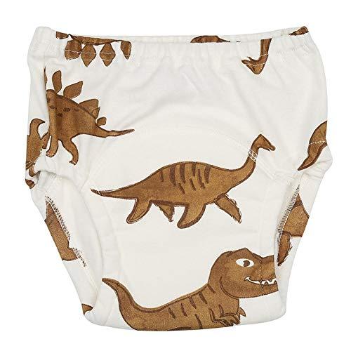 Baby Trainingshose Baumwolle Cartoon Töpfchen Unterwäsche für Kleinkinder Toilette Training Waschbar Wiederverwendbare Windel Windel (100) (Sport-kleinkind-unterwäsche)