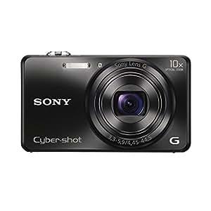 Sony DSCWX200 Digital Compact Camera with Wi-Fi - Black (18MP, 10x Zoom)