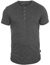!Solid Calvin Camiseta Básica De Manga Corta T-Shirt para Hombre con Cuello Redondo