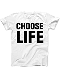 Choose Life T-Shirt 100% Premium Cotton