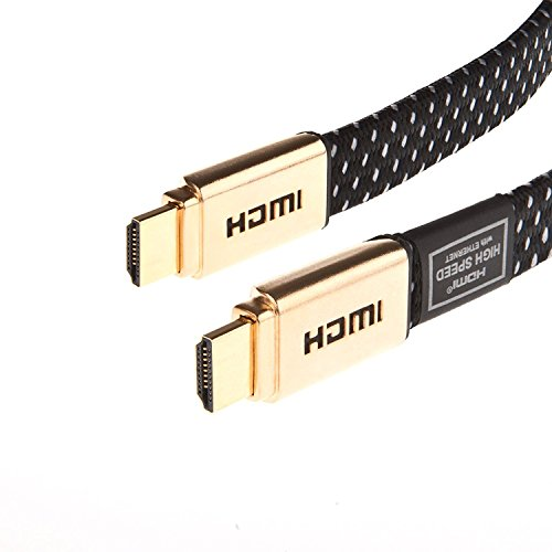 Câble HDMI 2.0 Laptone - Plaqué Or - 2m - 1080p, 2160p - HDMI vers HDMI - Câble ethernet, PS3, Xbox 360, PS4, Xbox One, HDTV, SkyHD