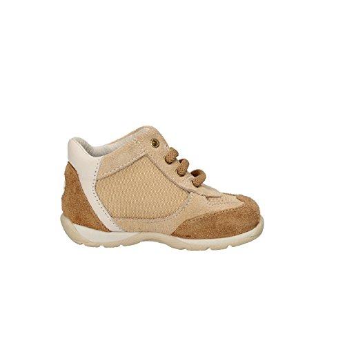 BALDUCCI sneakers garçon bleu / Gris blanc daim Textile cuir Beige