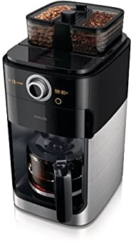 Philips Grind & Brew Coffee Maker, HD7762/00, B
