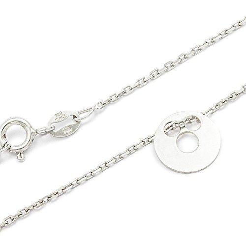 ASS 925 Silber Damen Kinder Anker Kette Armband 17-19 cm Kreis