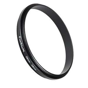 Fotodiox Macro-Ring 58mm - 58mm, Macro Close-up Reverse Ring, Anodized Black Metal Ring