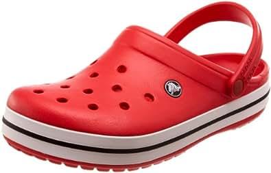 crocs Crocband Unisex Clogs, Rot (Red 610), 37.5 EU