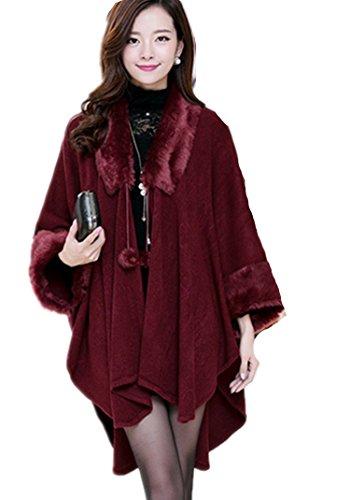 atopdress - Manteau - Sans Manche - Femme Noir noir F80-RED