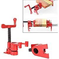 """4 tornillos para madera, pinzas de madera, abrazadera de tornillo para tratamiento de madera robusto, 3/4"""", herramientas de trabajo de madera"""