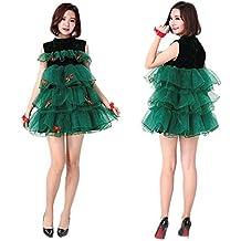 c8453aa7b056d KAIDILA Costume de Noël Costume Sexy Cosplay Costume Adulte Mignon Womens  Robe de Noël Arbre de