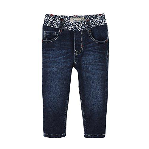 Levis Kids Baby-Mädchen Jeans Pant Many, Blau (Sodalite Blue 46), 68 (Herstellergröße: 6M) (Levis Tab Jeans)