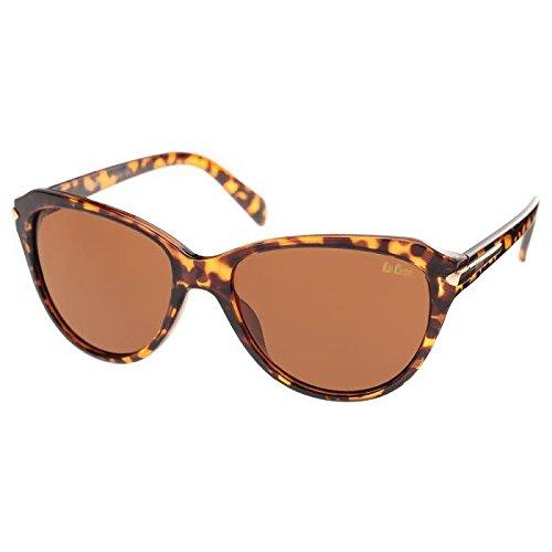 Lee Cooper Sonnenbrille Damen-Gestell Braun