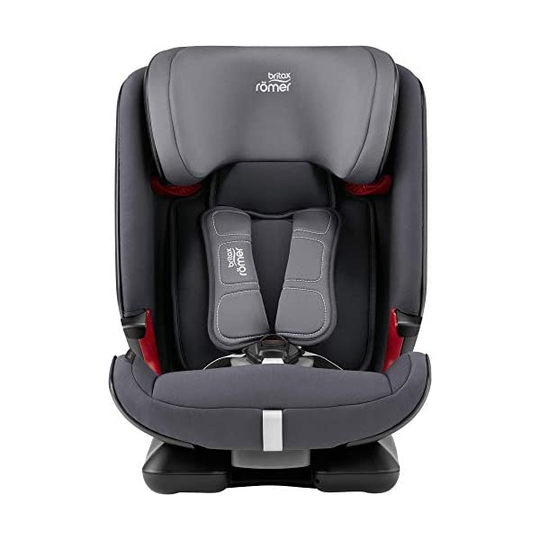 Britax Römer car seat 9-36 kg, ADVANSAFIX Z-LINE Isofix Group 1/2/3, Storm Grey Britax Römer Made in germany Flip & grow - change from buckle to secureguard Excellent security concept - with xp-pad, secureguard and pivot link isofix system 2