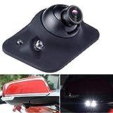 Mini HD de visión Nocturna CCD de 360 Grados Vista Trasera del automóvil/Vista Frontal/Vista Lateral Cámara de estacionamiento de Respaldo Cámara de Marcha atrás 2 LED