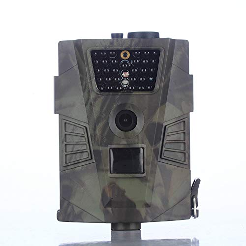 Wildlife Trailer Outdoor Hunting Machine Explosion HT-0011080P Full HD Wildlife Tracker Camera Trap 12MP Infrared Cam mit Night Vision Outdoor Natural Garden Home Security Monitoring