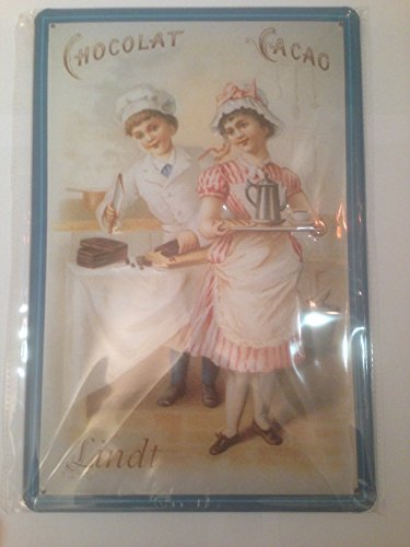 lindt-chocolate-cocoa-vintage-look-metal-sign