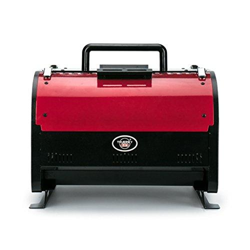 YONG- Four de cuisson multifonction Electro-carbone Double usage Sans fumée Barbecue rouge Barbecue Économie d'énergie Portable