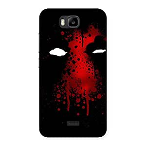 Enticing Horror Red Back Case Cover for Honor Bee