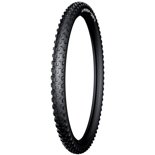 Michelin WildGrip'R 29x2.25', Tubeless Ready Pneumatico da Bicicletta, Nero