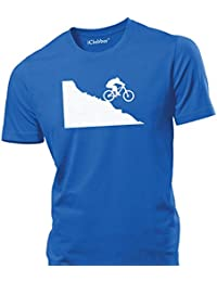 iClobber MTB Mountain Bike Downhill mens T Shirt