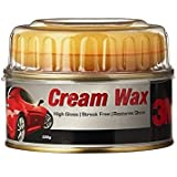 3M Wax Cream Wax High Gloss/Streak-Free/Restores Shines (220 g)