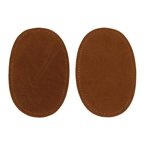 paire-de-patchs-pieces-ovale-en-tissu-de-suede-de-couture-pour-protection-de-coude-et-genou-brun
