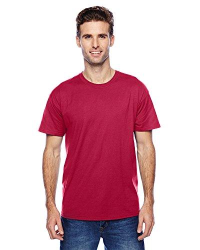 Hanes uomo S/S x-temp maglietta a maniche corte XX-Large,1 Deep Red / 1 Navy Blue
