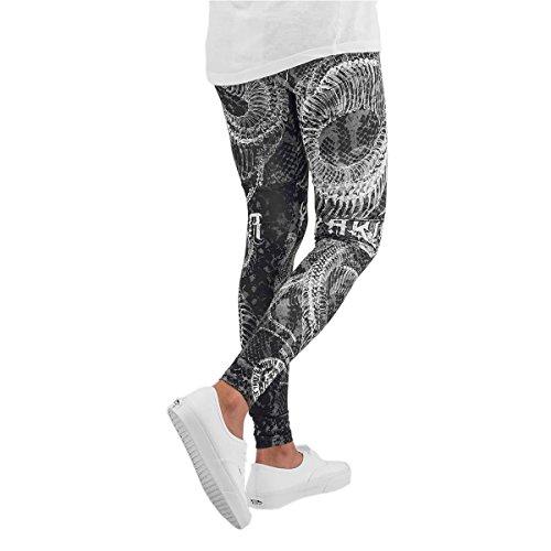 Yakuza Femme Pantalons & Shorts / Leggings All-Over Print Noir - Noir