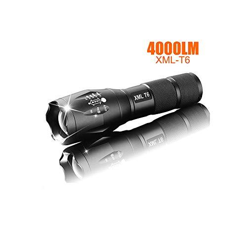 LED wiederaufladbare Taschenlampe Pocketman XML T6 Taschenlampe 4000 Lumen Outdoor Camping leistungsstarke LED Taschenlampe -