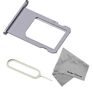 SIM Karte Schlitten Tray Holder Halterung Nano Slot Ersatzteil für Phone 6 (4,7 inch) + Sim Open Eject Pin