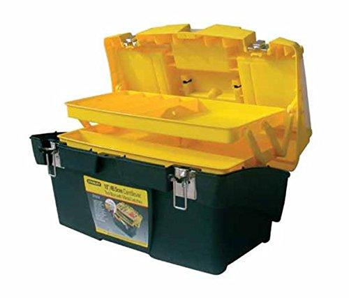Stanley Werkzeugbox Mega Cantilever mit zwei ausziehbaren Organizern, 49.5 x 26.5 x 26.1 cm, 1-92-911